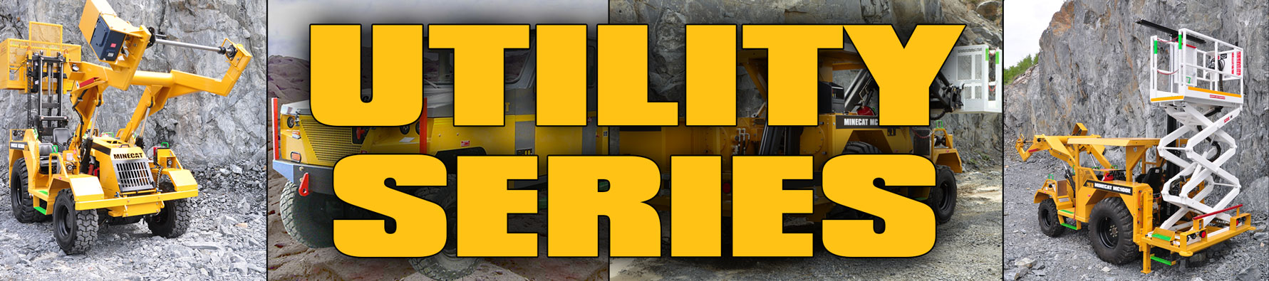MINECAT Electric Utility Vehicle Series Product Banner