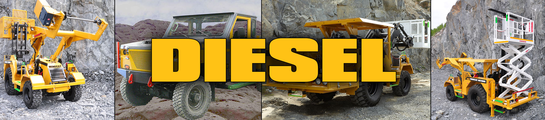 MINECAT Diesel Products Banner